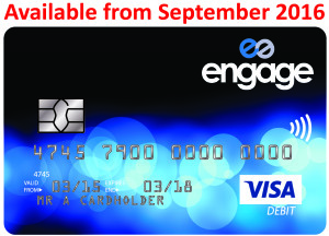 Engage current account card coming in September
